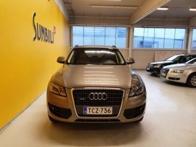 Audi Q5 2.0 TDI Quattro Aut. + BiXenon + Nahat + Tutkat + Juuri huollettu ja seuraava katsastus 25.3.2021 - Sunbiili