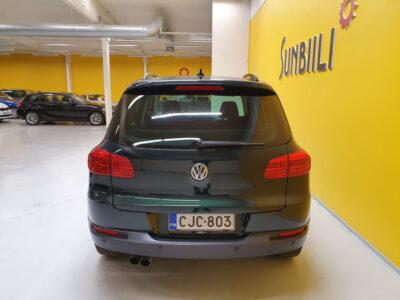 Volkswagen Tiguan 2.0 TDI Trend & Fun + Webasto + BiXenon + Tutkat + Juuri huollettu ja seuraava katsastus 6.9.2021 - Sunbiili